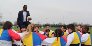 Serge Betsen in team building